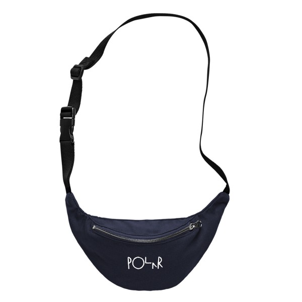 Polar Skate Co. Script Logo Hip Bag (Navy)
