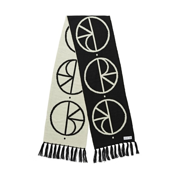 Polar Skate Co. Stroke Logo Scarf (Black)
