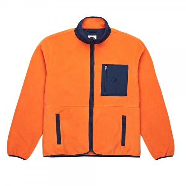Polar Stenström Fleece Jacket (Orange/Navy)