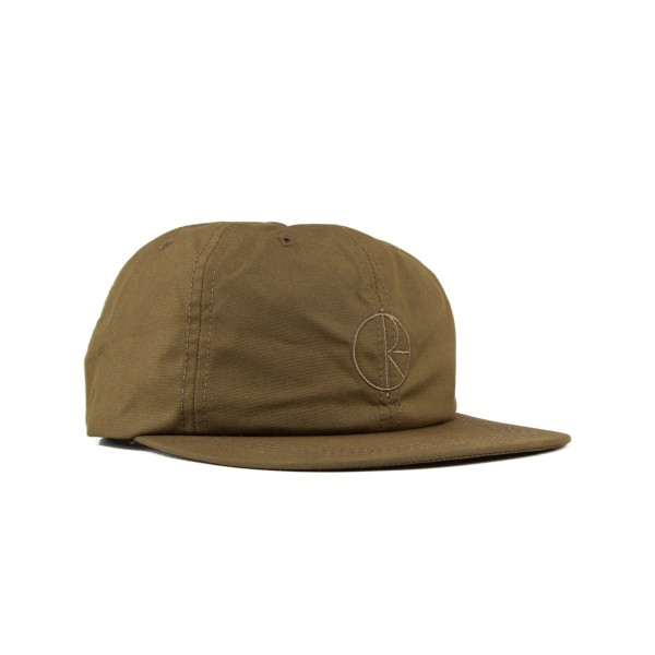 Polar Waxed Cotton Cap (Brown)