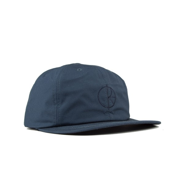 Polar Waxed Cotton Cap (Navy)