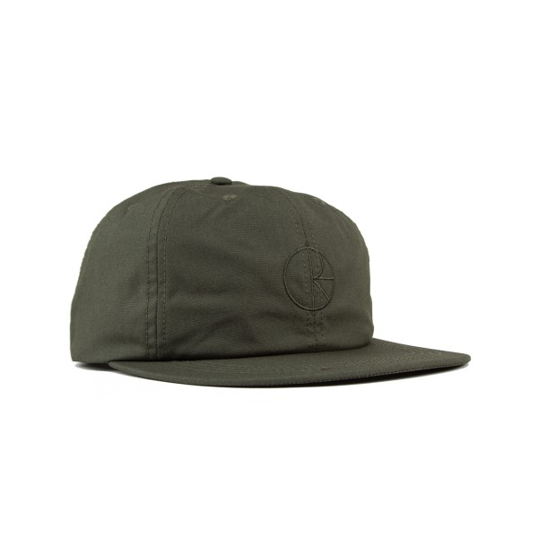 Polar Waxed Cotton Cap (Olive)