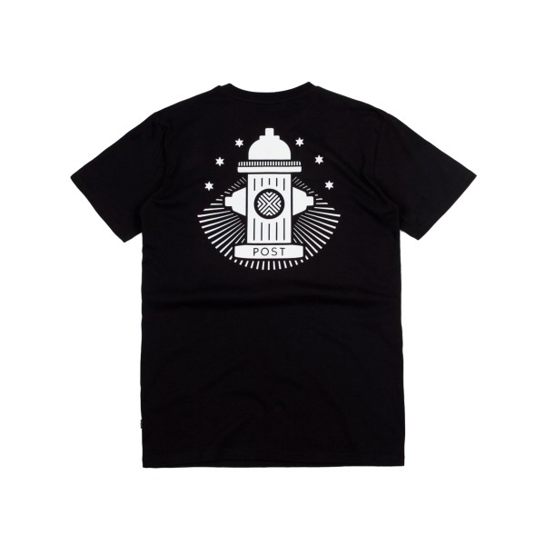 Post Details No Bills Hydrant T-Shirt (Black)