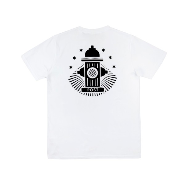 Post Details No Bills Hydrant T-Shirt (White)