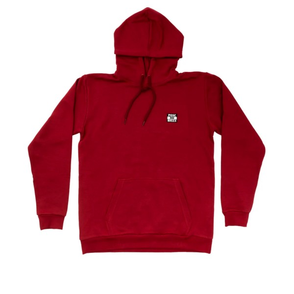 Post Details Post No Bills Pullover Hooded Sweatshirt (Burgundy)