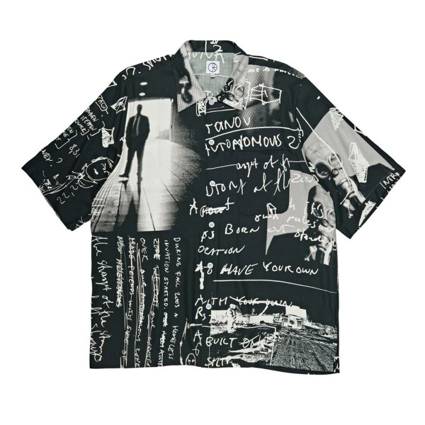 Polar Skate Co. Art Strongest Notes Shirt (Black)