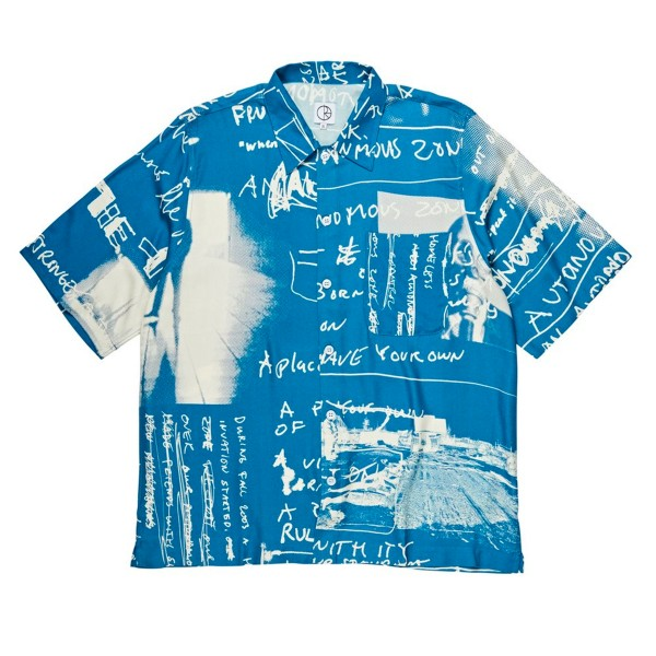 Polar Skate Co. Art Strongest Notes Shirt (Blue)