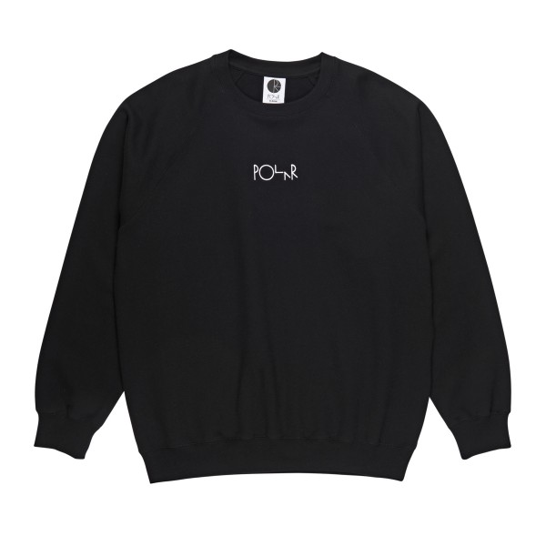 Polar Skate Co. Default Crew Neck Sweatshirt (Black)