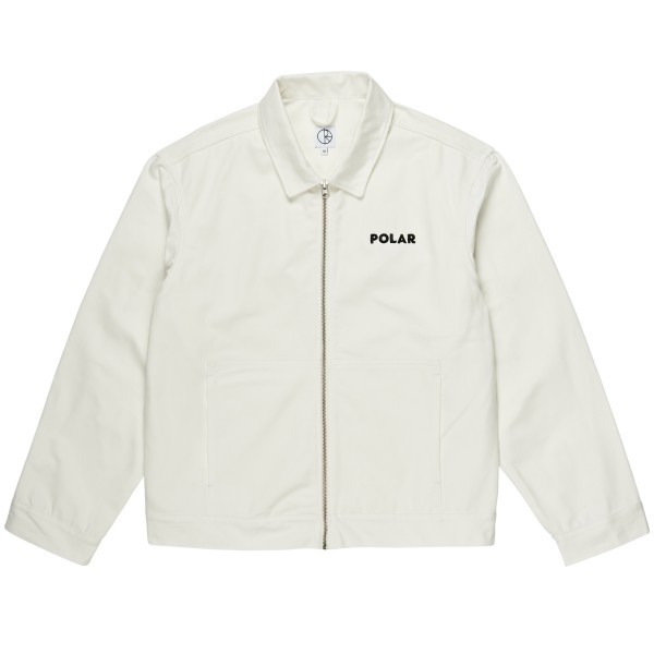 Polar Skate Co. Notes Denim Jacket (Ivory)