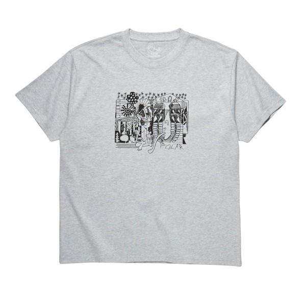 Polar Skate Co. TK T-Shirt (Sport Grey)