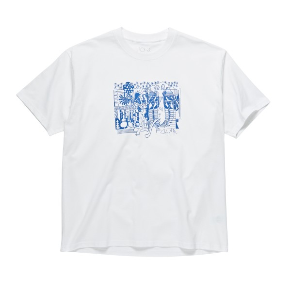 Polar Skate Co. TK T-Shirt (White)
