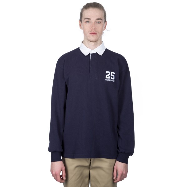 Quartersnacks 25 Rugby Shirt (Navy)