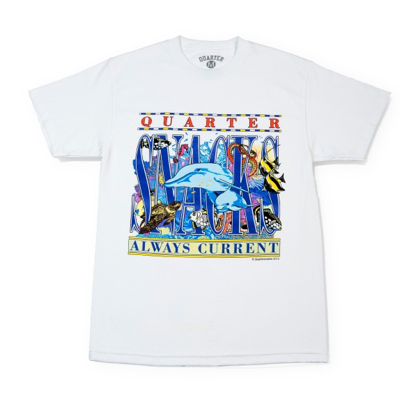 Quartersnacks Always Current T-Shirt (White)