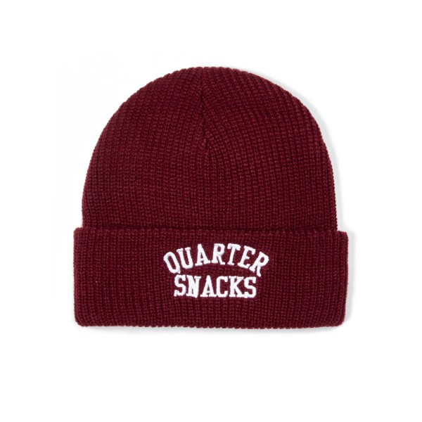 Quartersnacks Arch Beanie (Burgundy)