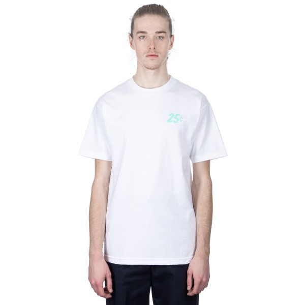Quartersnacks Champagne Forever T-Shirt (White)