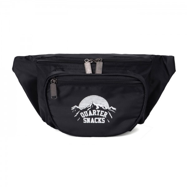 Quartersnacks Party Satchel (Black)