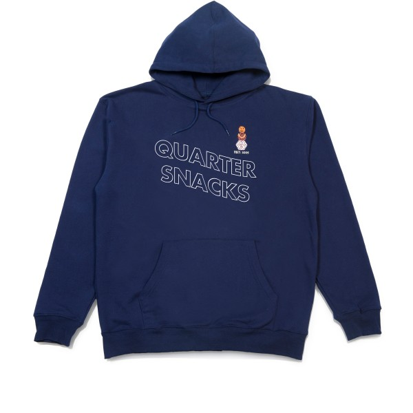 Quartersnacks Snackman Pullover Hooded Sweatshirt (Navy)