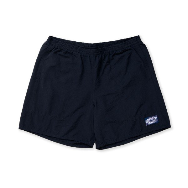 Quartersnacks Swim Trunks (Black)