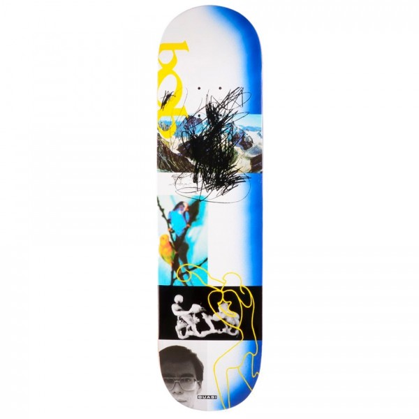 "Quasi Bobby de Keyzer Debut One Skateboard Deck 8.25"" (Blue)"