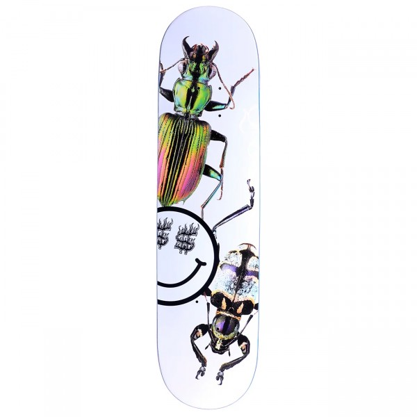 "Quasi Bug One Skateboard Deck 8.0"" (White)"