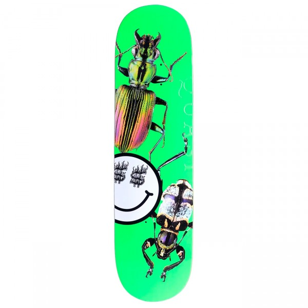 "Quasi Bug Three Skateboard Deck 8.5"" (Green)"