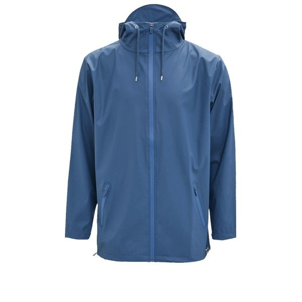 Rains Breaker Rain Jacket (Faded Blue)