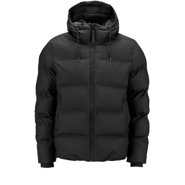 Rains Puffer Jacket (Black)