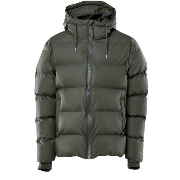 Rains Puffer Jacket (Green)