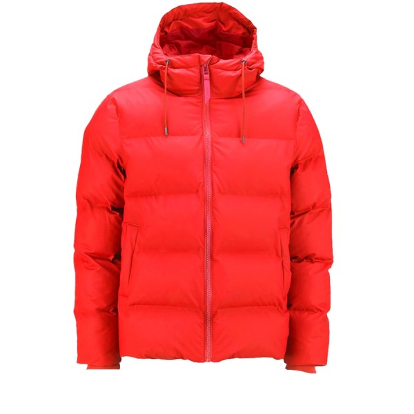 Rains Puffer Jacket (Red)