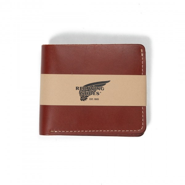 Red Wing Classic Bifold Wallet (Oro Russet Frontier Leather)