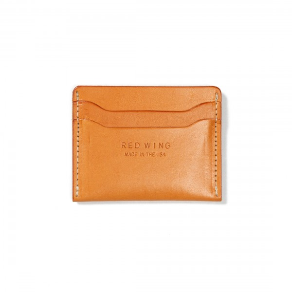 Red Wing Credit Card Holder (Vegetable-Tanned Leather)