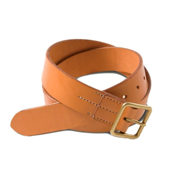 Red Wing English Bridle Leather Belt (Natural Tan Vegetable Tanned)