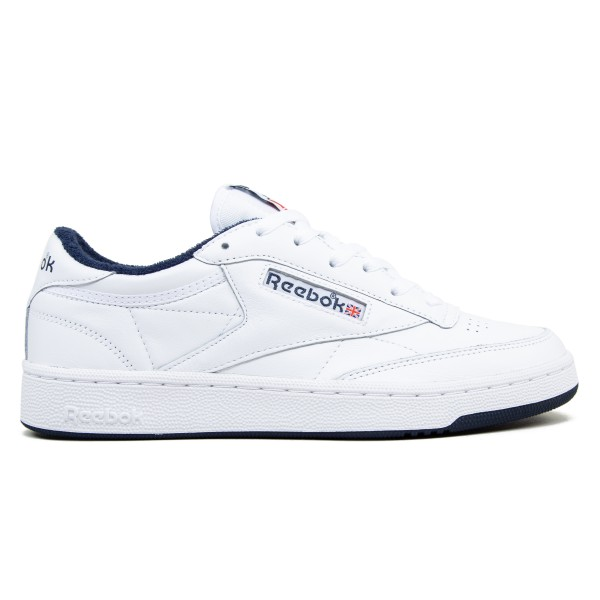 Reebok Club C 85 Archive (White/Collegiate Navy/Excellent Red)