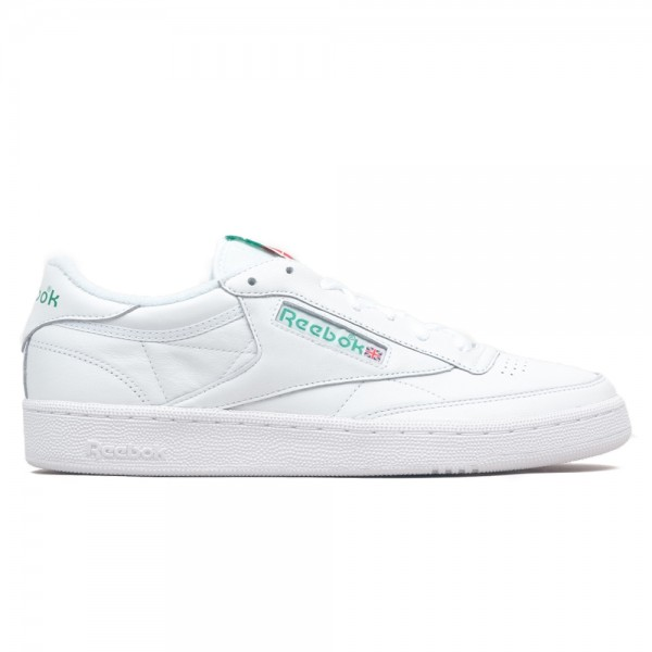 Reebok Club C 85 Archive (White/Glen Green/Excellent Red)