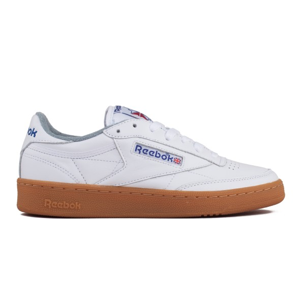 Reebok Club C 85 Gum (White/Reebok Royal/Flat Grey)