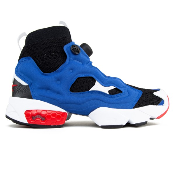 Reebok Instapump Fury Ultraknit OG (Black/Team Dark Royal/Primal Red)