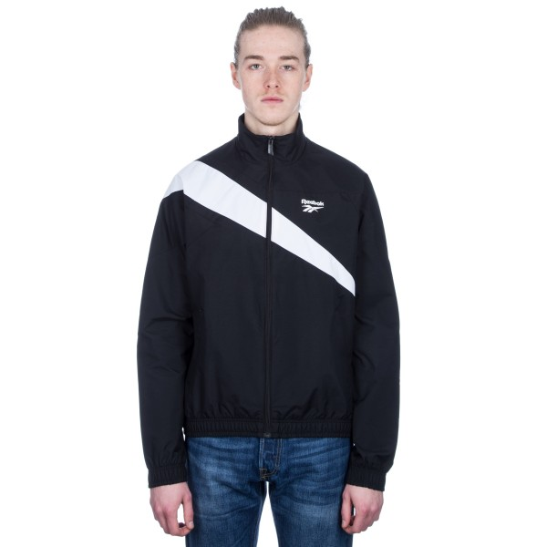Reebok LF Track Top (Black/White)