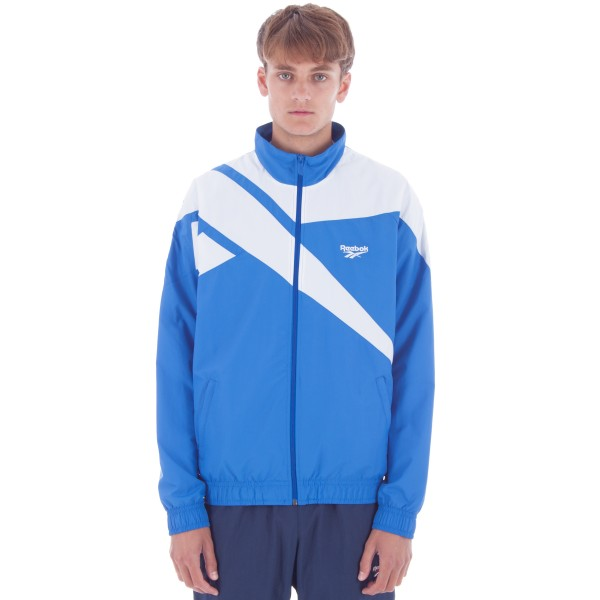 Reebok LF Vector Track Top (Awesome Blue/White)