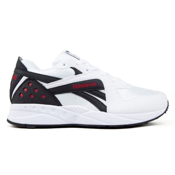 Reebok Pyro (White/Black/Cranberry Red)