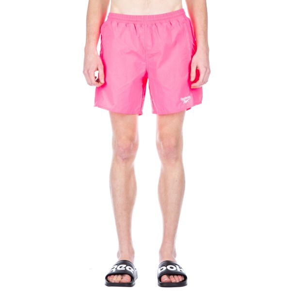 Reebok Retro Woven Shorts (Acid Pink)