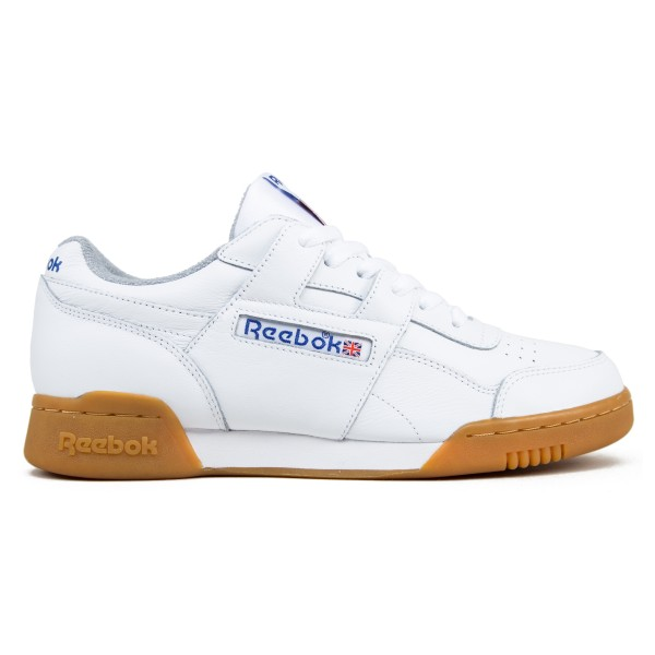 Reebok Workout Plus R12 (White/Reebok Royal/Tin Grey)