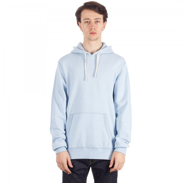 Reigning Champ Pullover Hooded Sweatshirt (Heather Light Saxe)
