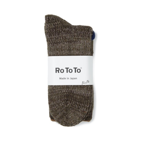 RoToTo Outlast Teasel Socks (Army Green)