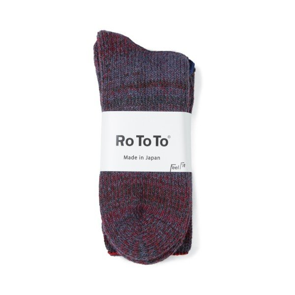 RoToTo Outlast Teasel Socks (Red Purple)