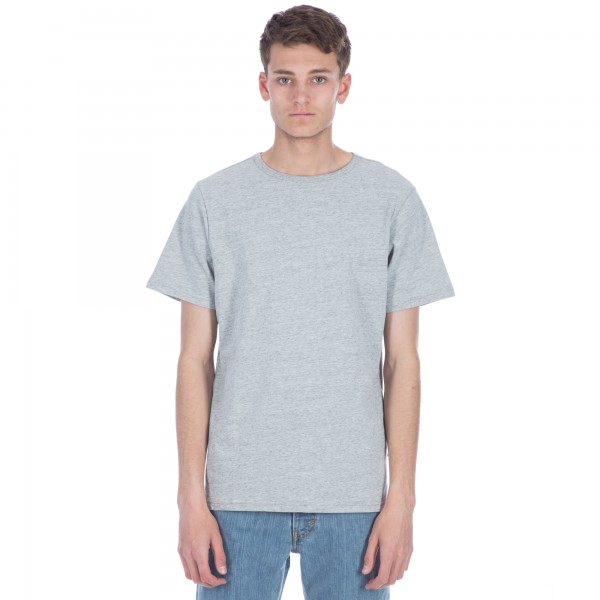 Saturday's Surf NYC Brandon Heavy Jersey T-Shirt (Ash Heather)
