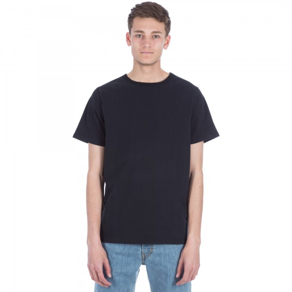 Saturday's Surf NYC Brandon Heavy Jersey T-Shirt (Black)