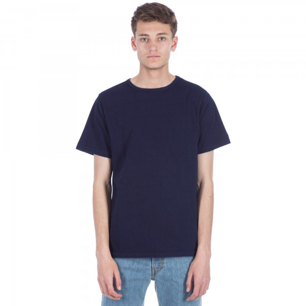 Saturday's Surf NYC Brandon Heavy Jersey T-Shirt (Indigo)