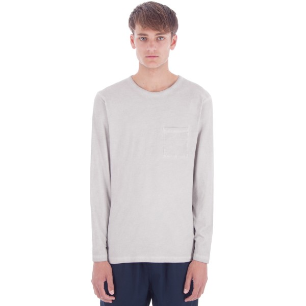 Saturday's Surf NYC James Solid Long Sleeve T-Shirt (Ash)