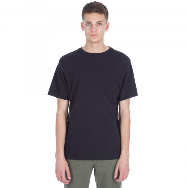 Saturday's Surf NYC Randall Solid T-Shirt (Black)
