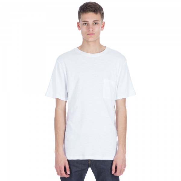 Saturday's Surf NYC Randall Solid T-Shirt (White)